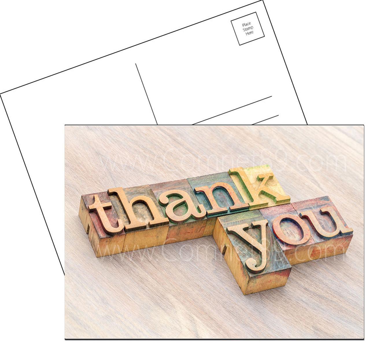 Thank You Postcard 02