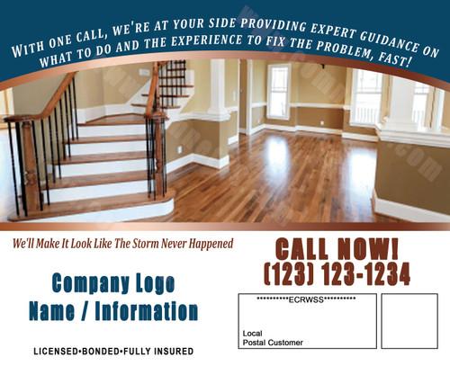 Remodeling & Restoration Postcard 07