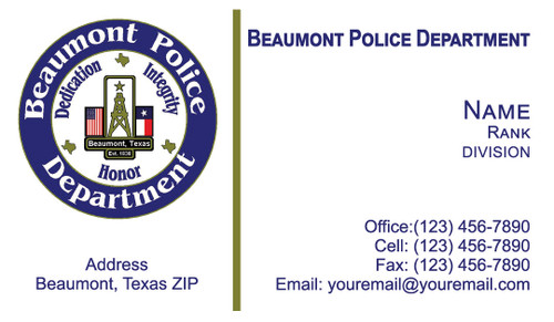 BPD Business Card #1