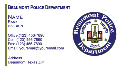 BPD Business Card #2