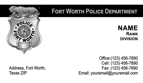 FWPD Business Card #6