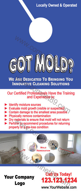 Mold Remediation Door Hanger 01