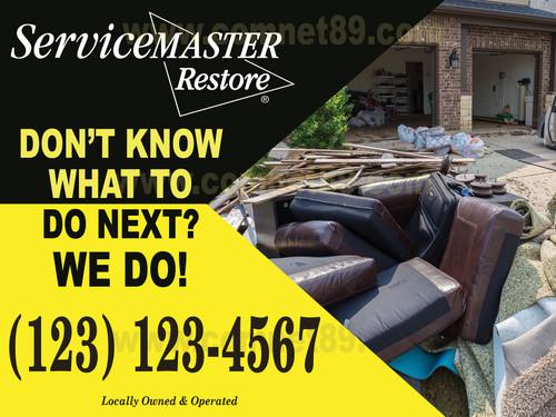 Service Master Restore  Yard Sign 01