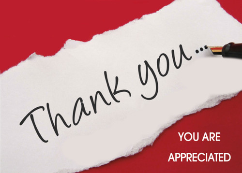 Thank You Greeting Card 01