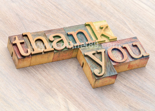 Thank You Greeting Card 02