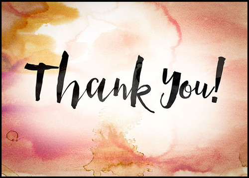 Thank You Greeting Card 04