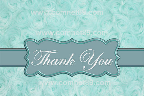 Thank You Greeting Card 06