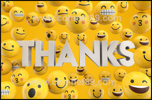 Thank You Greeting Card 07