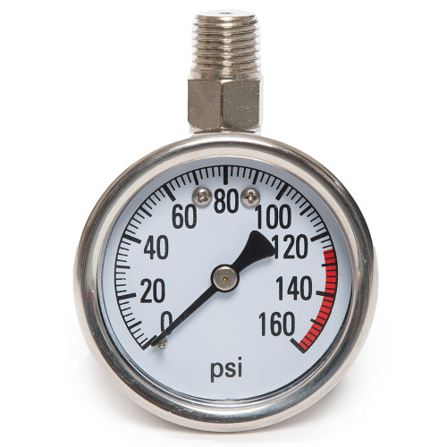 0 - 160 PSI Air Pressure Gauge