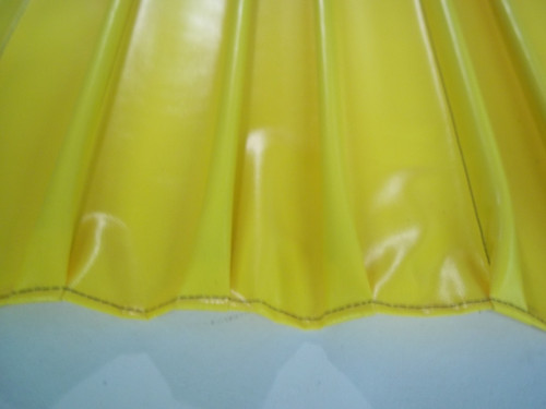 Pleated section