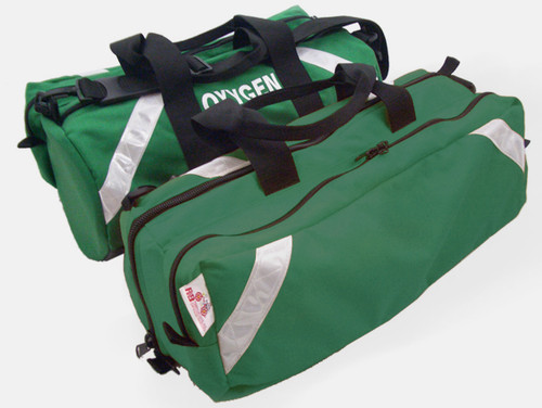 838GR-PKT Oxygen Roll Bag with Pocket