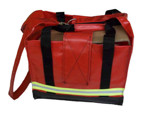 Big City High Rise Tool Bag in Red
