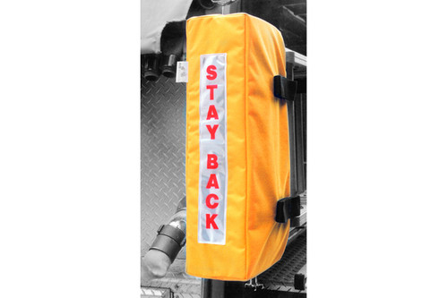 Stay back ladder boot / skull saver