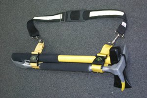 Pro Bar Splitting Maul Set with reflective shoulder strap and marry strap