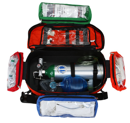 Trauma Pack with removable pouches