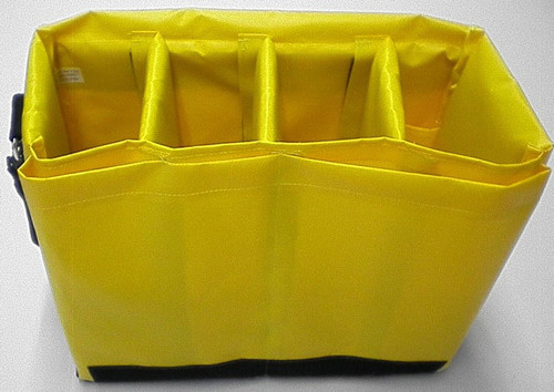 High Rise Tool Bag divided compartments