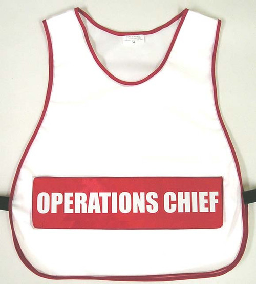 Hospital Incident Command Vest
