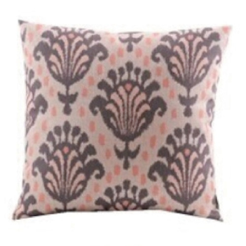 Dusty Pink And Grey Linen Cushion Cover