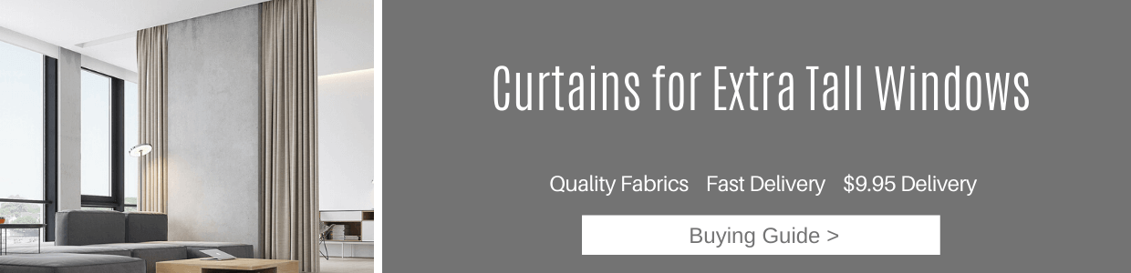 Curtains for Extra Tall Windows