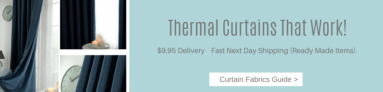Thermal curtains that work keep the cold out this winter