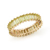 Yellow Gold-1^Eternity Ring Designs: Kristyn Kylie Baguette Gemstone Ring in Yellow Gold