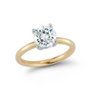 Solitaire Engagement Ring with 1.53ct. Round Brilliant