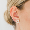 Yellow Gold-2^Designer Stud Earrings: Taylor Beth Cutout Studs in Yellow Gold