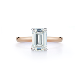 Solitaire Engagement Ring with 2.0 ct. Emerald Diamond