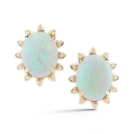 Courtney Lauren Opal Studs