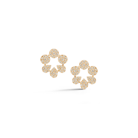 Yellow Gold-1^Designer Stud Earrings: Taylor Beth Cutout Studs in Yellow Gold