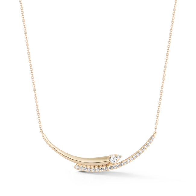 Reese Brooklyn Knife-Edge Curve Necklace