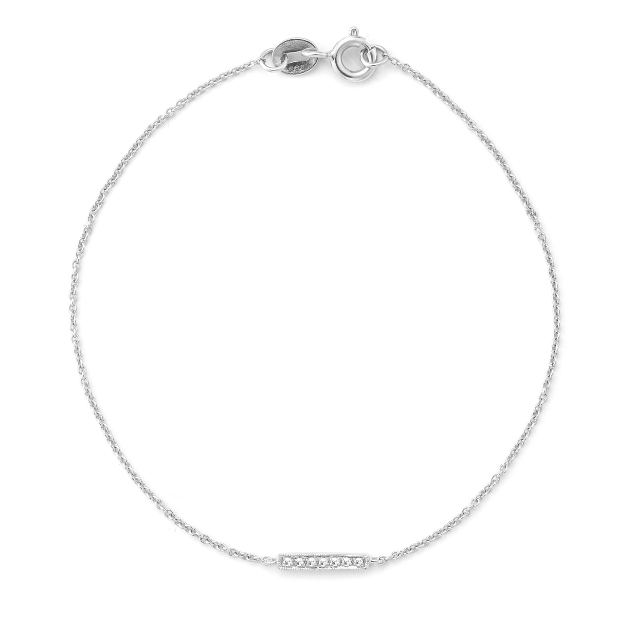 sylvie rose single bar bracelet