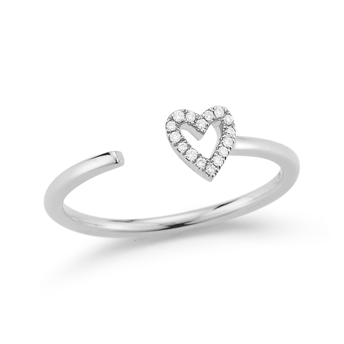 drd single heart ring