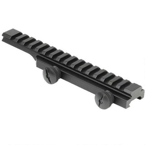 Weaver AR-15 Flat Top Picatinny Riser Rail Aluminum Black 48372