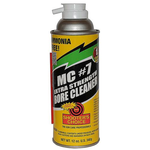 SHOOTERS CHOICE/VENTCO MC7 Extra Strength Bore Cleaner 12oz Aerosol, MC7XT