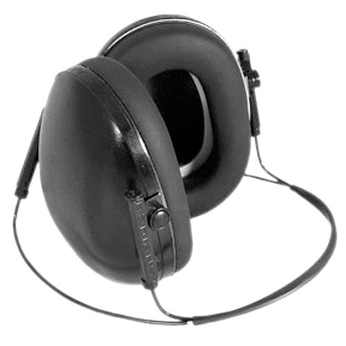 Radians Lowset BTH Earmuff 19dB NRR Black, LS0101CS