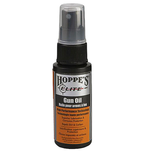 Hoppes Elite Gun Oil Cleaner/Lubricant Bottle 2 oz, GO2