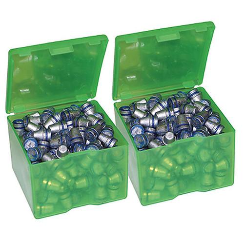 MTM CAST1-16 CAST BULLET BOXES (2-PACK)- CLEAR GREEN