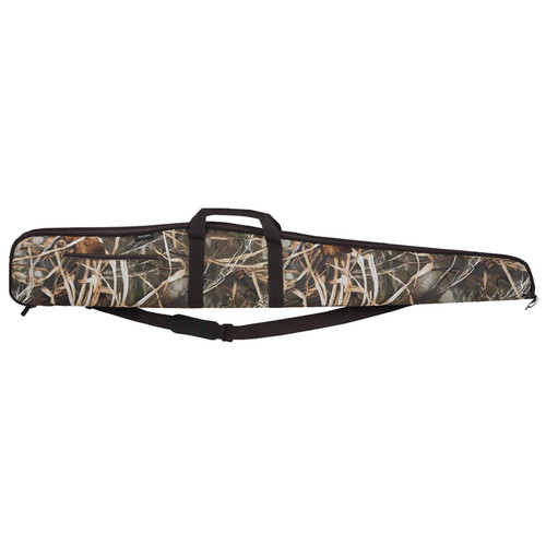 "Bulldog Shotgun Soft Case 52"" Nylon Mossy Oak Camo with Brown Trim, BD284"