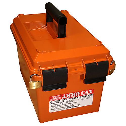 MTM AC35 AMMO CAN- ORANGE