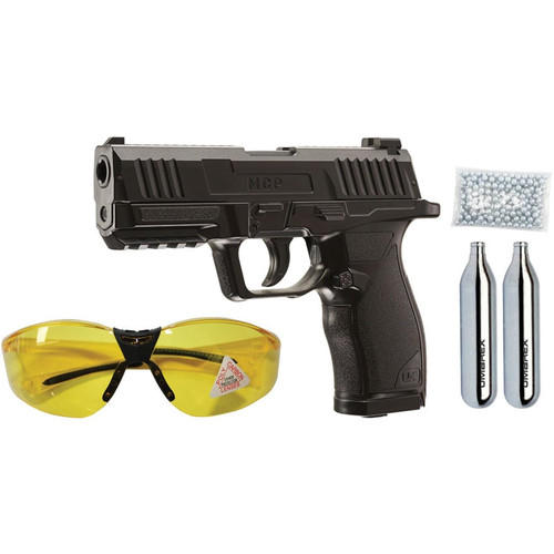 Umarex 2252118 MCP Kit, MCP Pistol Safety Glasses, 250 Steel BB's