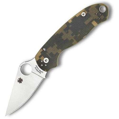 Spyderco C223GPCMO Para 3 Plain Camo G-10