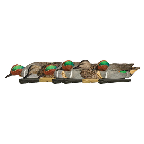 Avian-X Top Flight Green Wing Teal Weighted Keel Duck Decoy Pack of 6