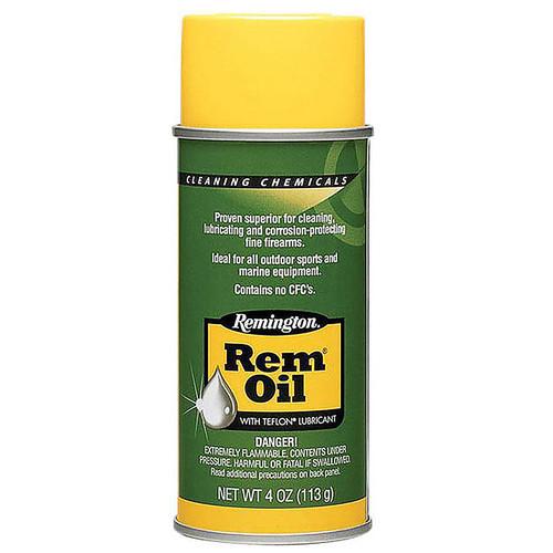 Remington Gun Spray Oil 4oz 26610