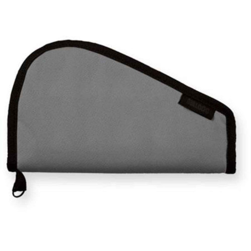 Bulldog Pistol Rug without Handles Gray 12x6 Inch BD610
