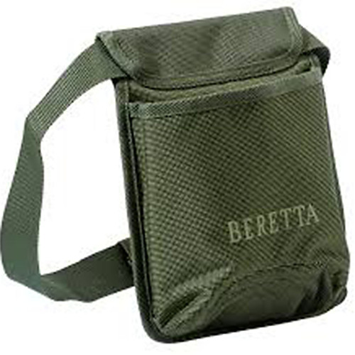 "Beretta USA CA061T161107 B-Wild Shell Pouch Adjustable Belt Polyester Green 8.25"" x 6.5"" x 3"""