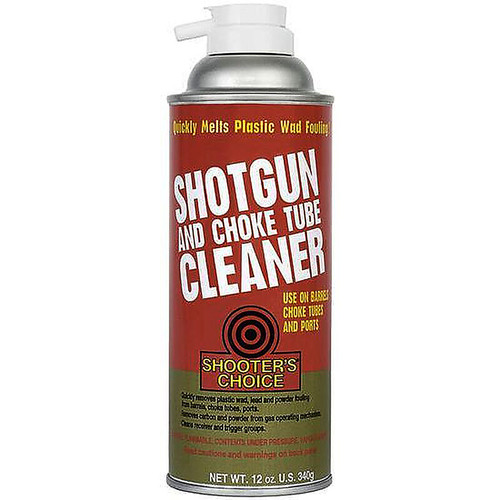 Shooters Choice Shotgun And Choke Cleaner 12 Ounce, SG012