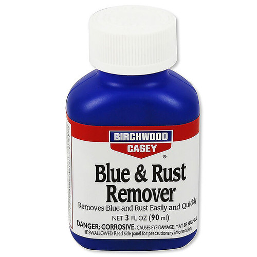 Birchwood Casey Blue and Rust Remover 3 oz Liquid, 16125