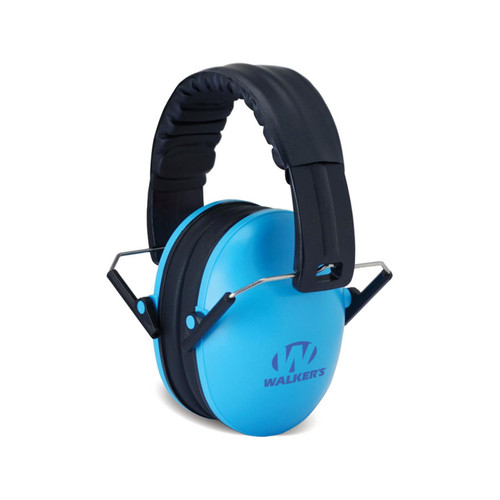 Walkers Baby and Kids Earmuffs NRR 23 dB Blue, GWP-FKDM-BL