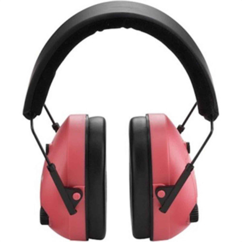 Champion Hearing Protection Electronic Earmuffs Pink 21db NRR, 40975